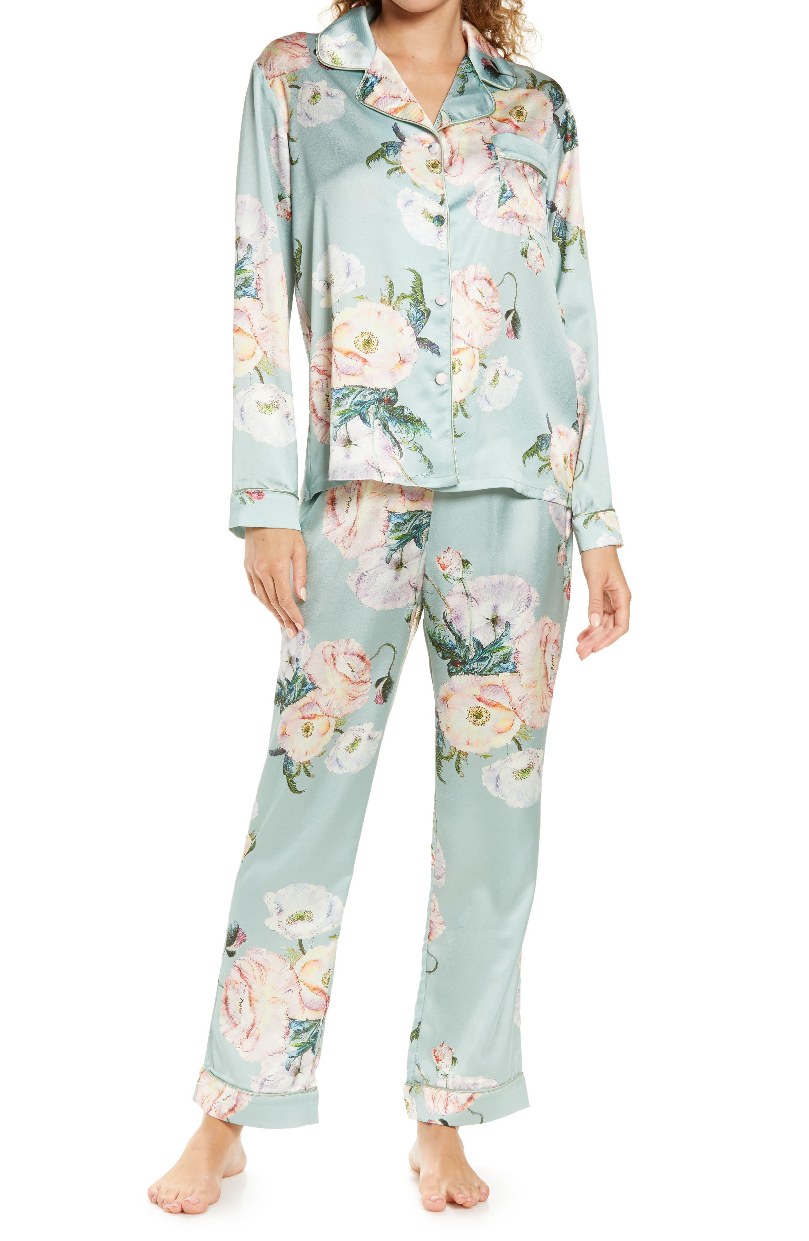 Shawnias Floral Pajamas