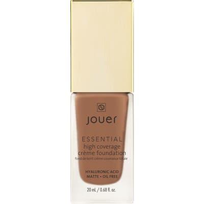 Jouer Essential High Coverage Creme Foundation - Chestnut