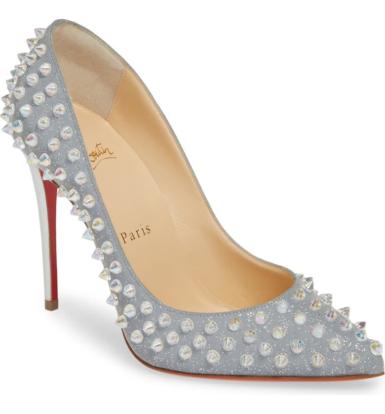 new york a5882 071c7 Christian Louboutin Follies Spike Pump (Women) | Nordstrom