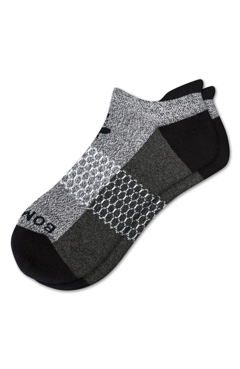 BOMBAS Original Ankle Socks, Main, color, SALT/ PEPPER