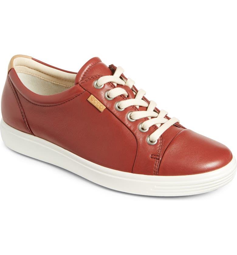 ECCO 'Soft 7' Cap Toe Sneaker, Main, color, 617