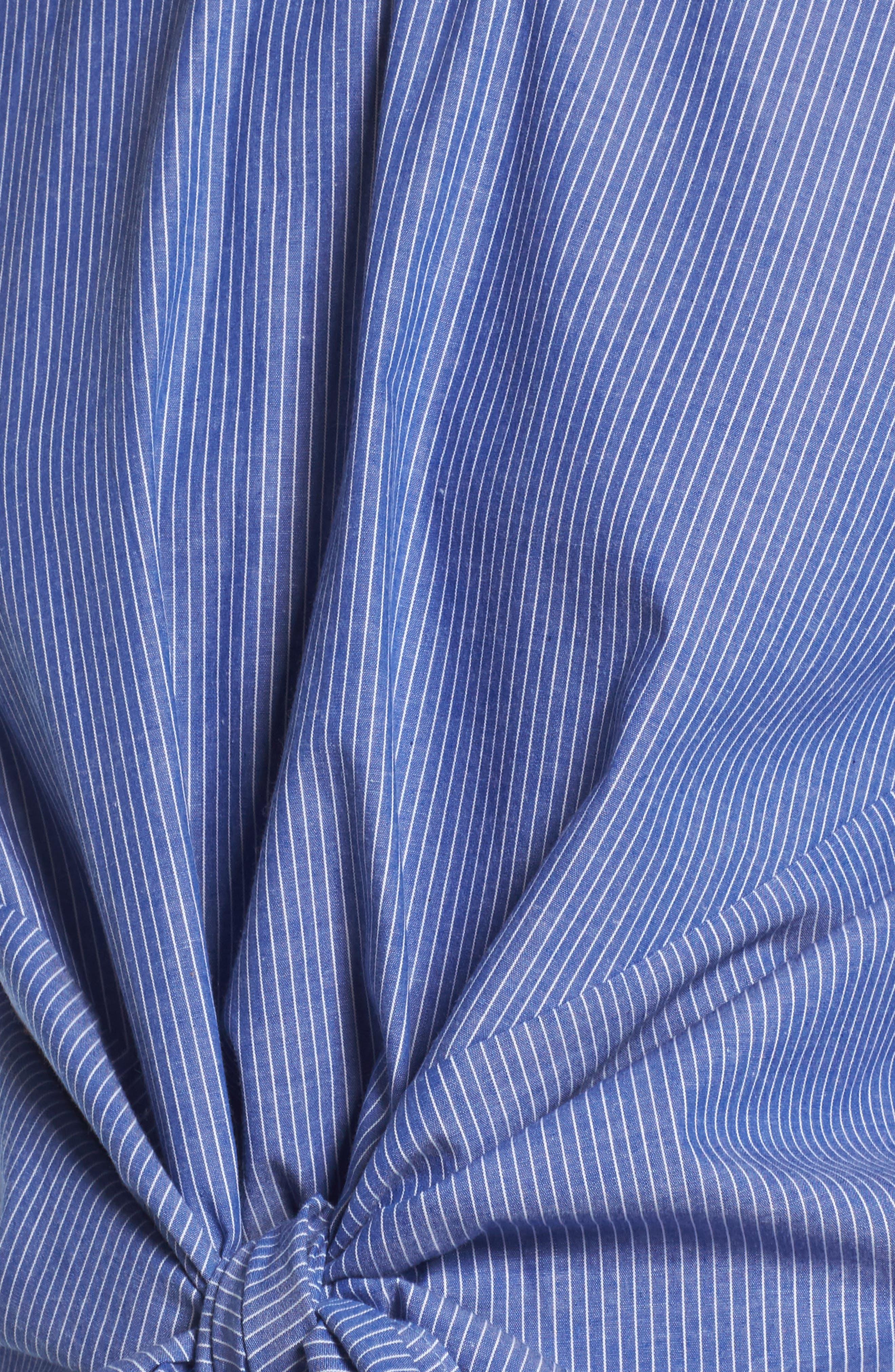 ,                             Tie Front Blouse,                             Alternate thumbnail 12, color,                             450