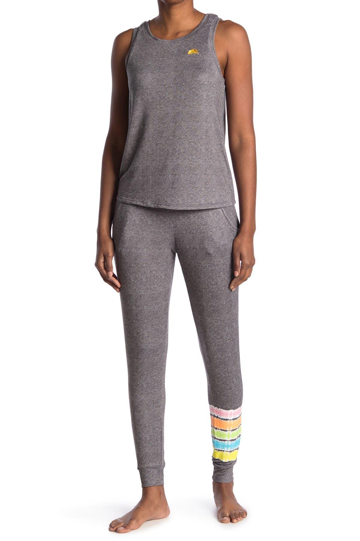 Image of C & C California Knit 2-Piece Pajama Set
