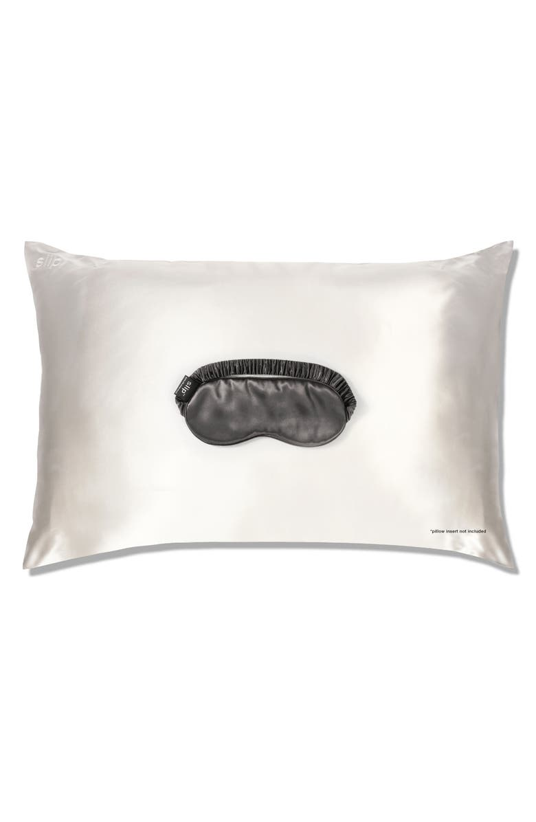 SLIP <sup>™</sup> for beauty sleep White & Charcoal Collection, Main, color, 020