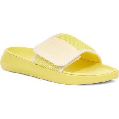 UGG La Light Slide Sandal, Yellow