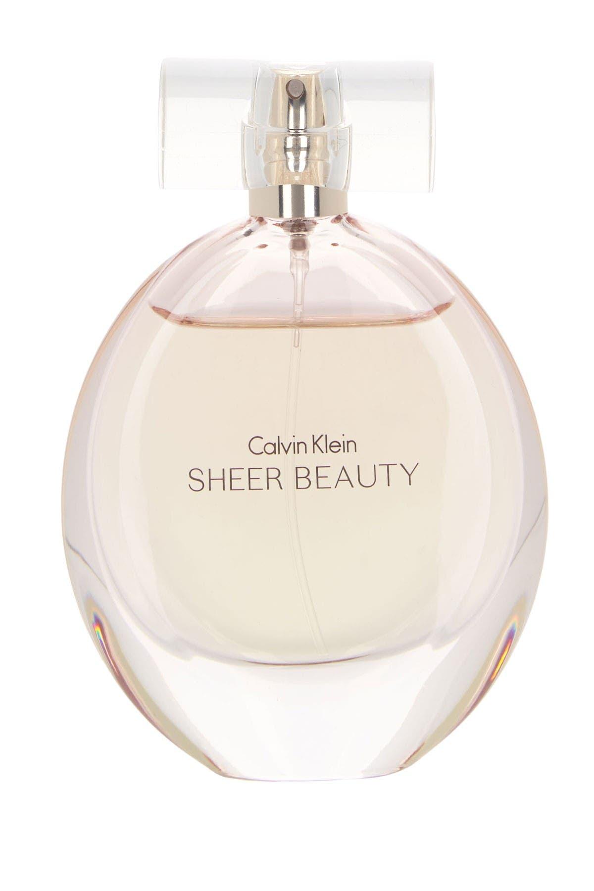 Image of Calvin Klein Sheer Beauty Eau De Toilette - 50 ml.