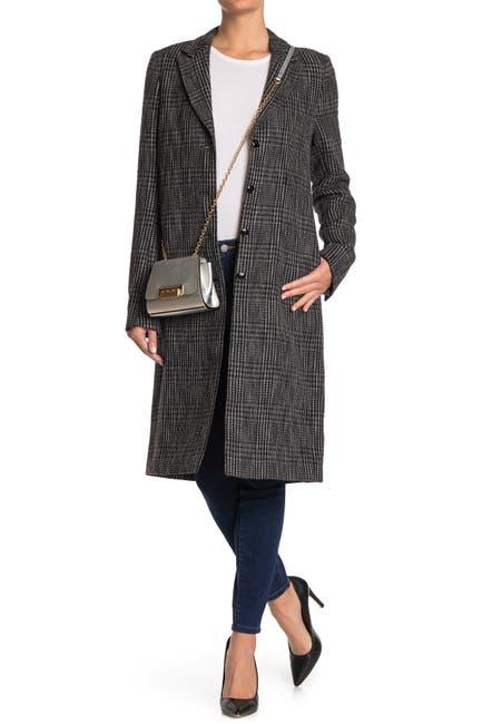 Image of RtA Denim Jamson Plaid Coat