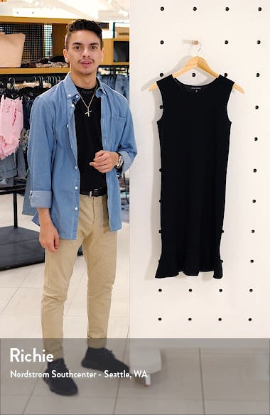 Flounced Sweater Dress, sales video thumbnail