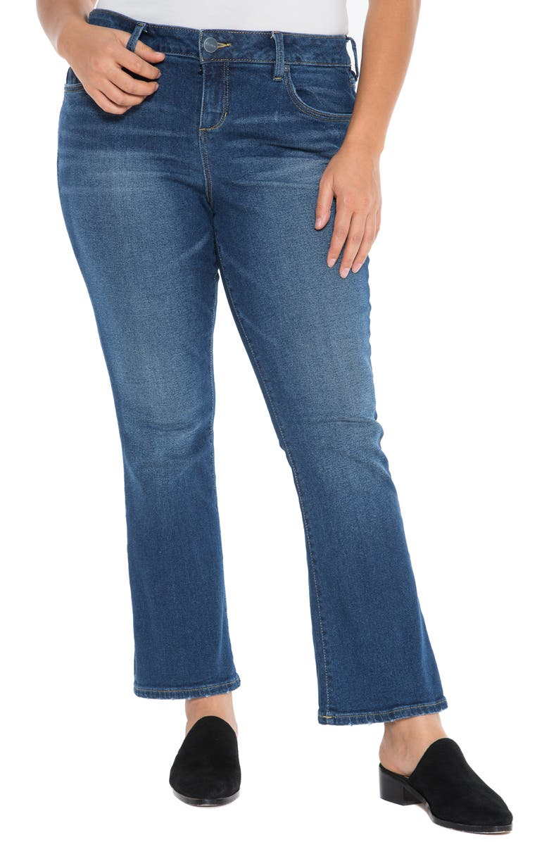 SLINK JEANS Flare Jeans, Main, color, 426