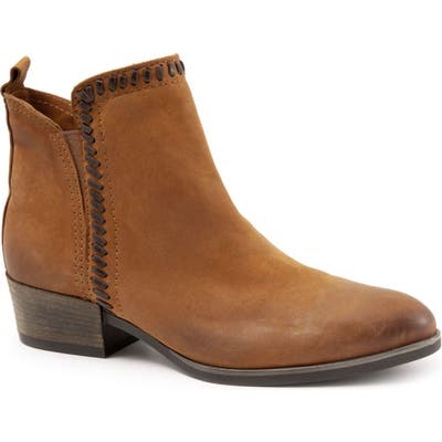 Bueno Lodi Block Heel Bootie - Brown