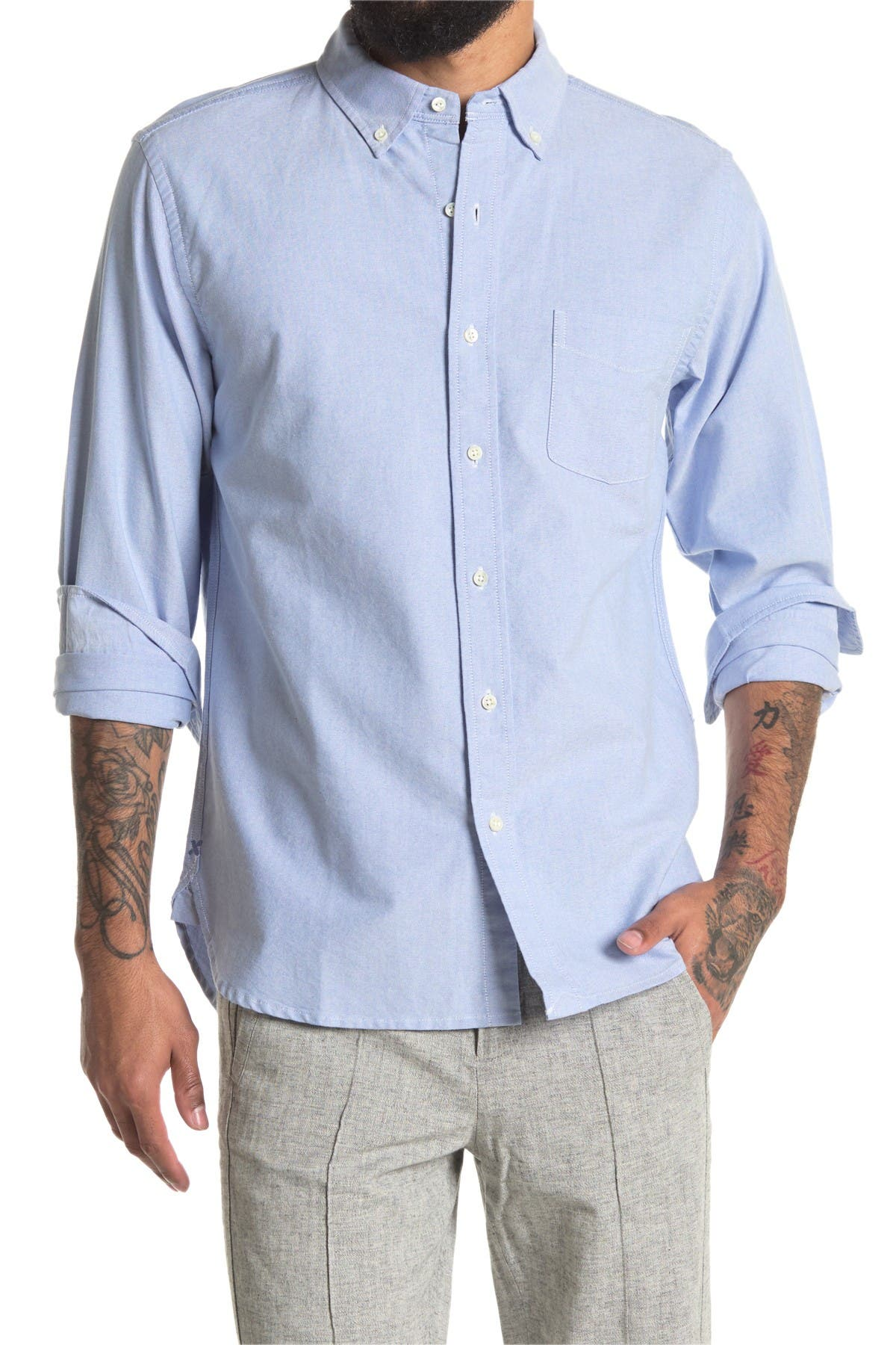Image of ALEX MILL Regular Fit Oxford Shirt