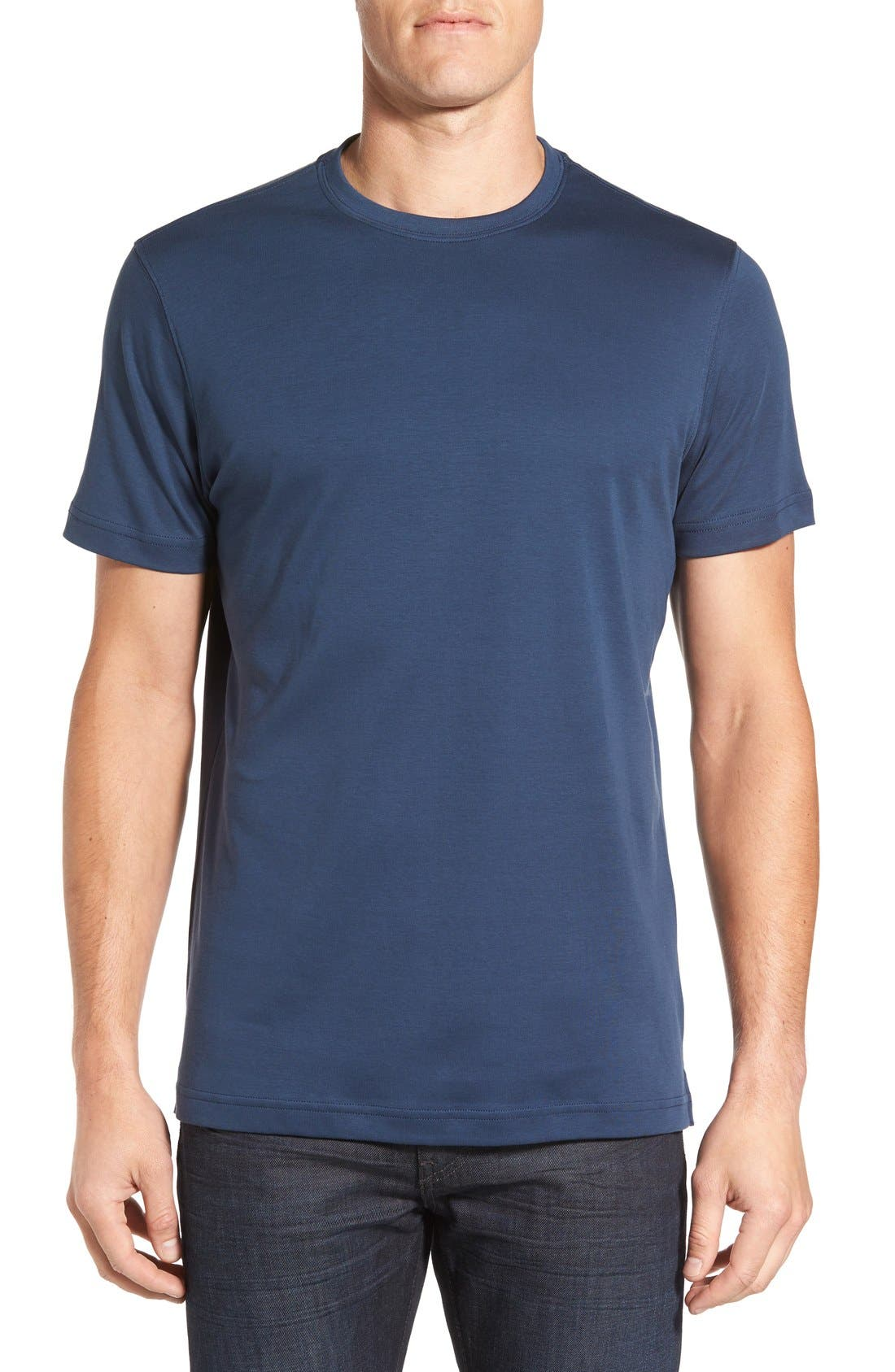 ,                             Georgia Crewneck T-Shirt,                             Main thumbnail 263, color,                             430