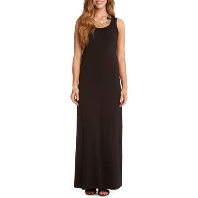 Karen Kane Maxi Tank Dress, Black