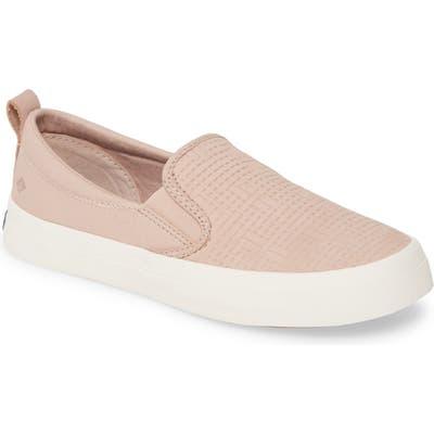 Sperry Crest Twin Gore Slip-On Sneaker, Pink