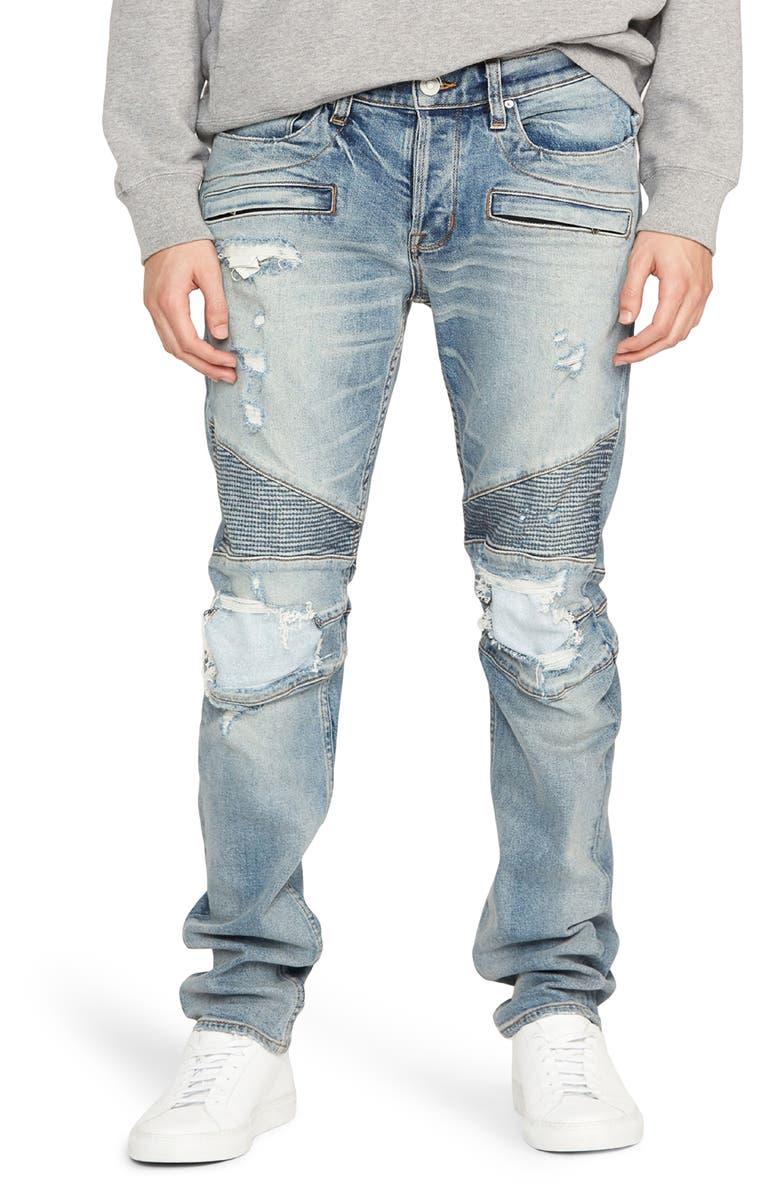 HUDSON JEANS Blinder Biker Skinny Fit Jeans, Main, color, REVERSE