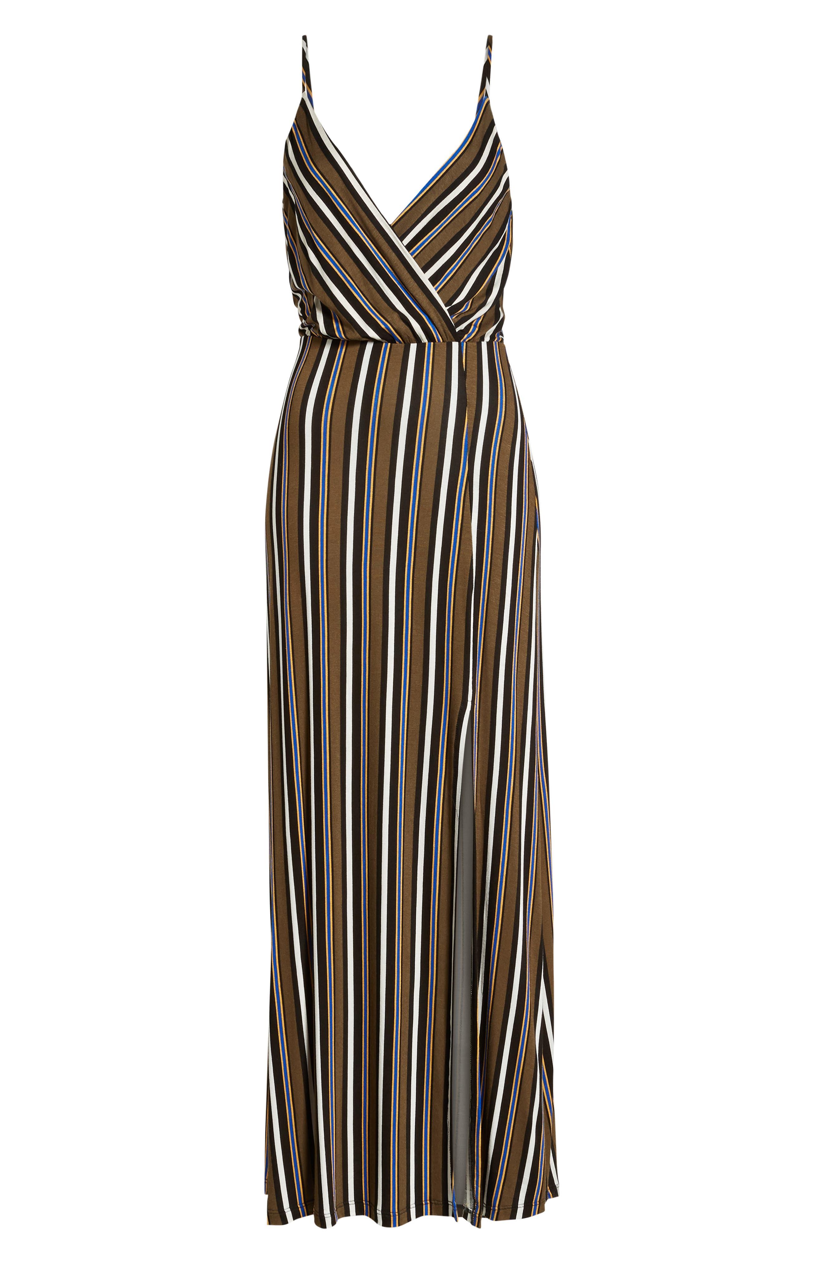 ,                             Surplice Neck Knit Maxi Dress,                             Alternate thumbnail 19, color,                             300