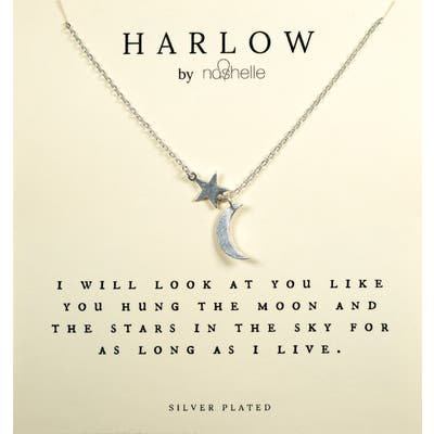 Harlow By Nashelle Moon & Stars Boxed Necklace