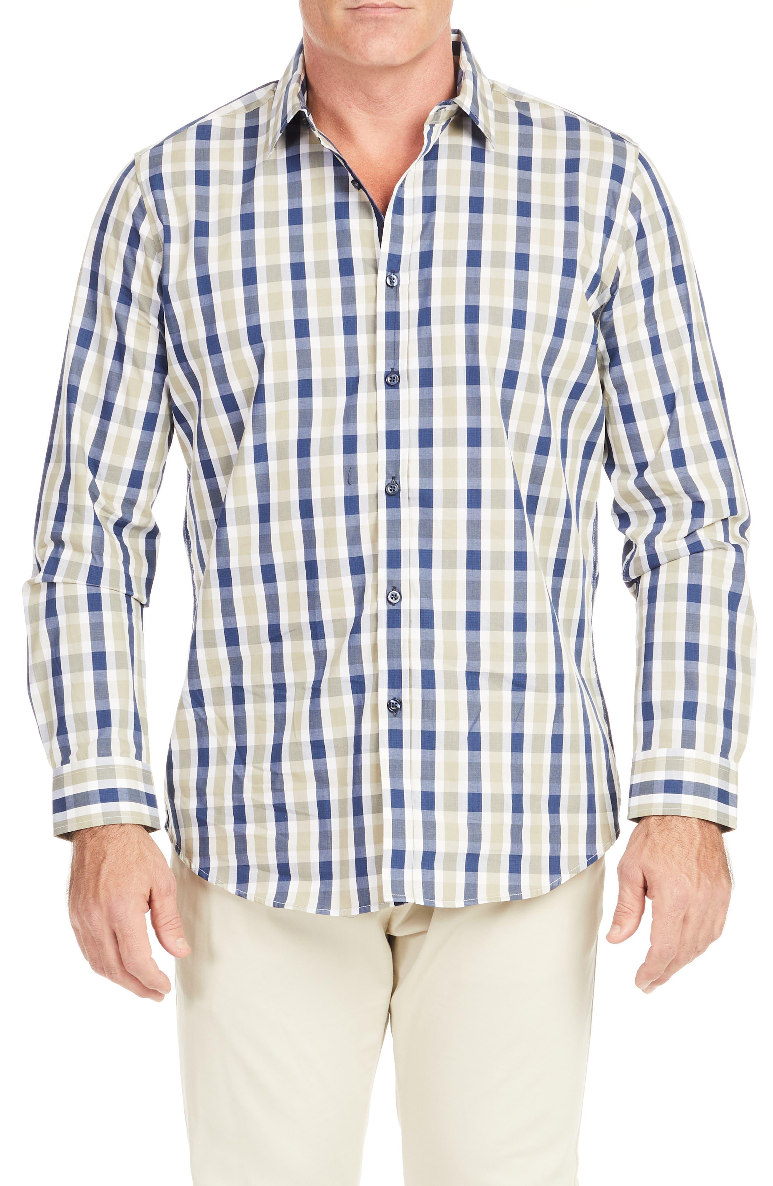 Bale Check Button-Up Shirt