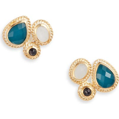 Anna Beck Stone Cluster Stud Earrings
