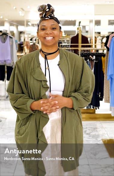 Charlie Python Print Sequin Jumpsuit, sales video thumbnail