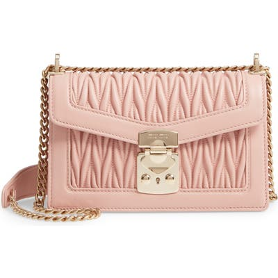 Miu Miu Matelasse Leather Crossbody Bag -