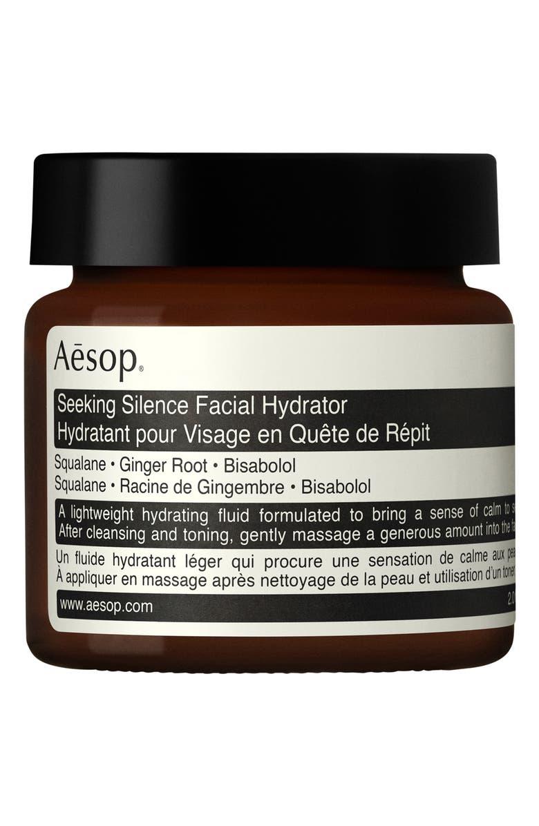AESOP Seeking Silence Facial Hydrator, Main, color, NO COLOR