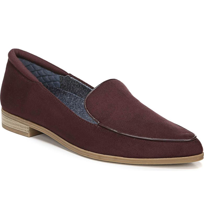 DR. SCHOLL'S Lark Loafer, Main, color, BORDEAUX FABRIC