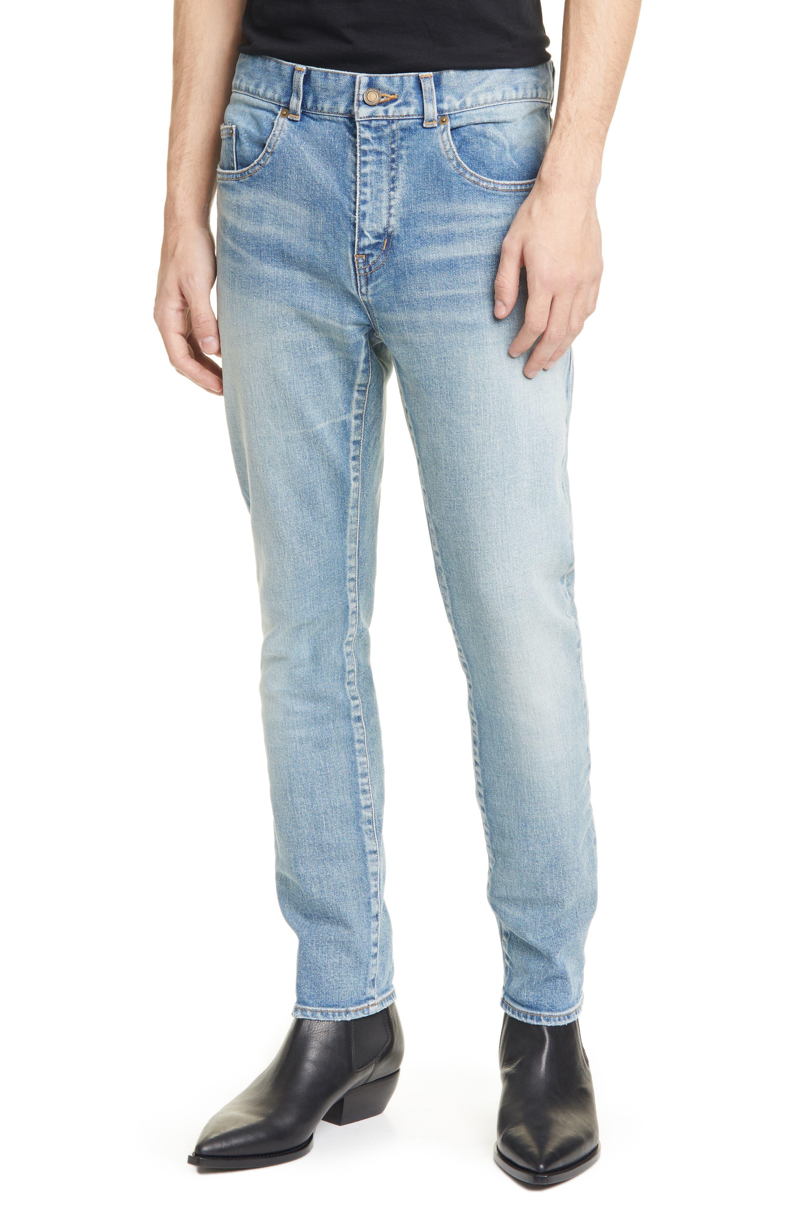 Men's Saint Laurent Skinny Jeans,  30 - Blue