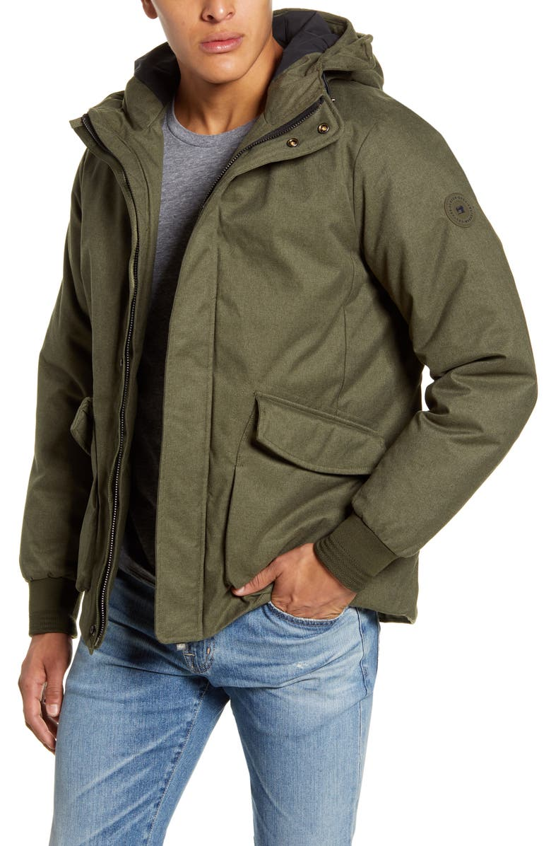 SCOTCH & SODA Hooded Jacket with Interior Quilting, Main, color, 310