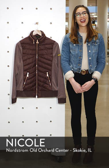 International Grandstand Hybrid Quilted Jacket, sales video thumbnail