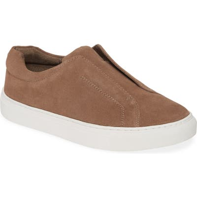 Jslides Luv Slip-On Sneaker- Brown