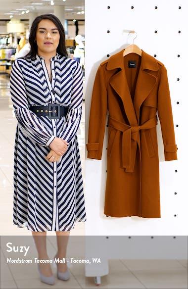 Oaklane Wool & Cashmere Wrap Coat, sales video thumbnail