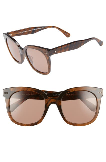 Image of kate spade new york atalia 52mm sunglasses