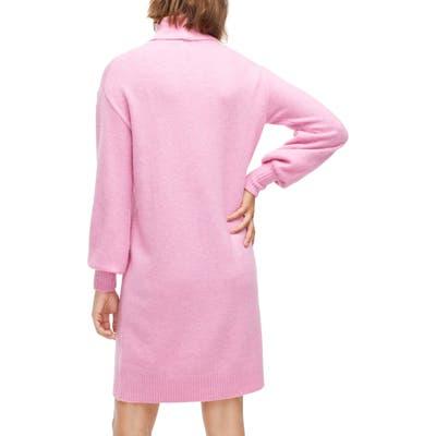 J.crew Supersoft Turtleneck Sweater Dress, Red