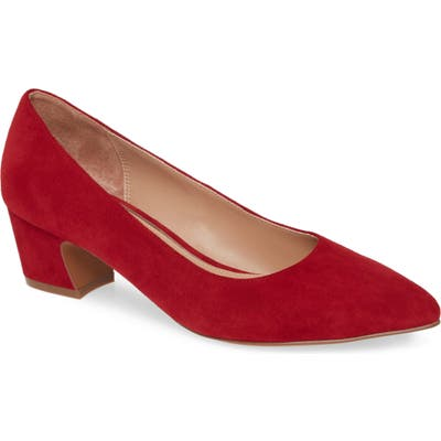 Linea Paolo Bardot Pump, Red