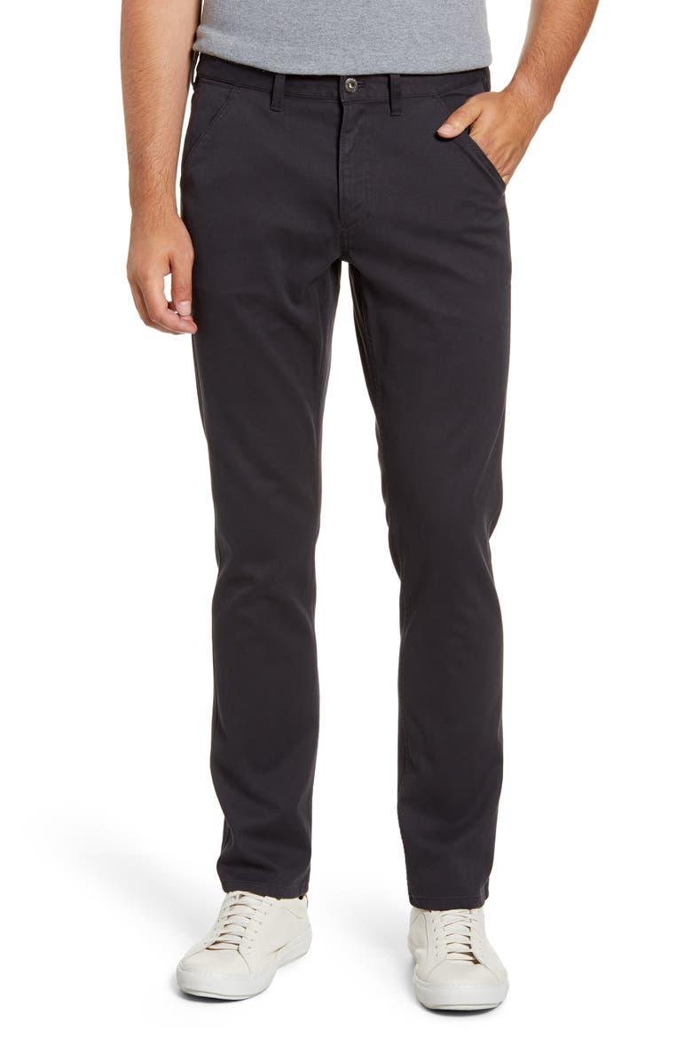BONOBOS Slim Fit Five-Pocket Bedford Cord Pants, Main, color, CONCRETE SLAB