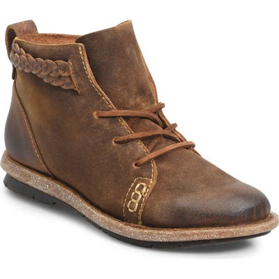 B?rn Temple Bootie- Brown