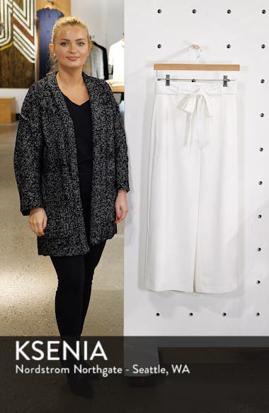 Layne Pintuck Belted Pants, sales video thumbnail