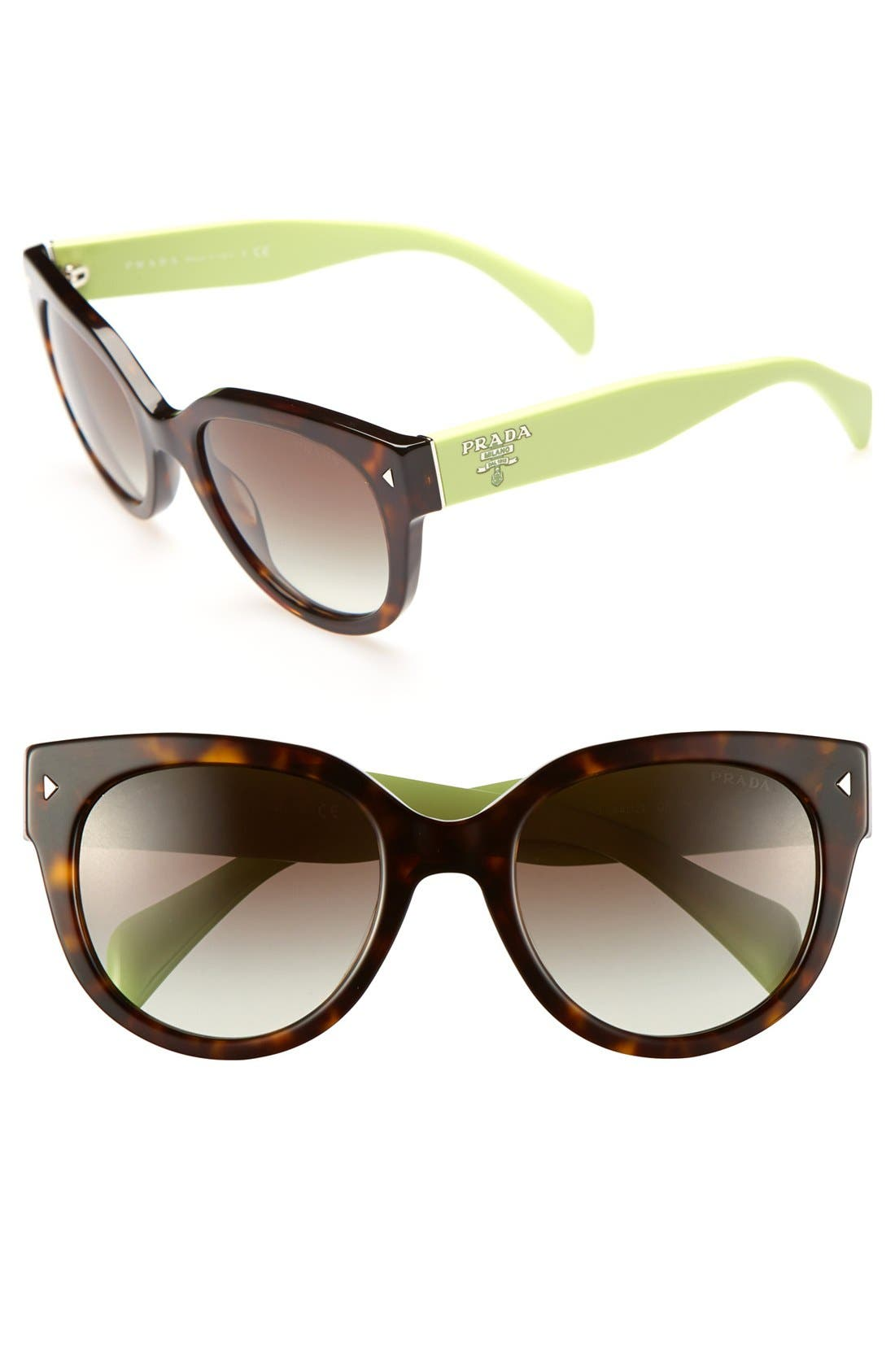 ,                             54mm Cat Eye Sunglasses,                             Main thumbnail 13, color,                             331