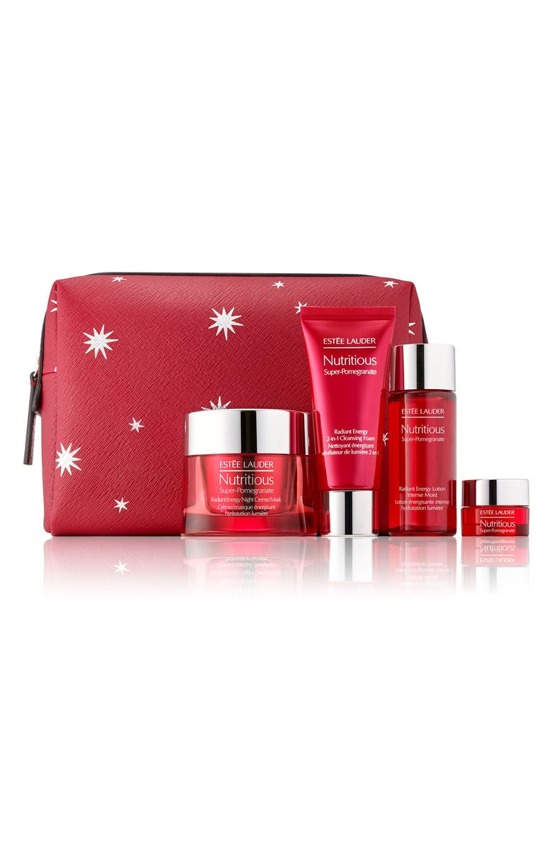 ESTÉE LAUDER Nutritious Super-Pomegranate Night Detox & Glow Set, Main, color, NO COLOR