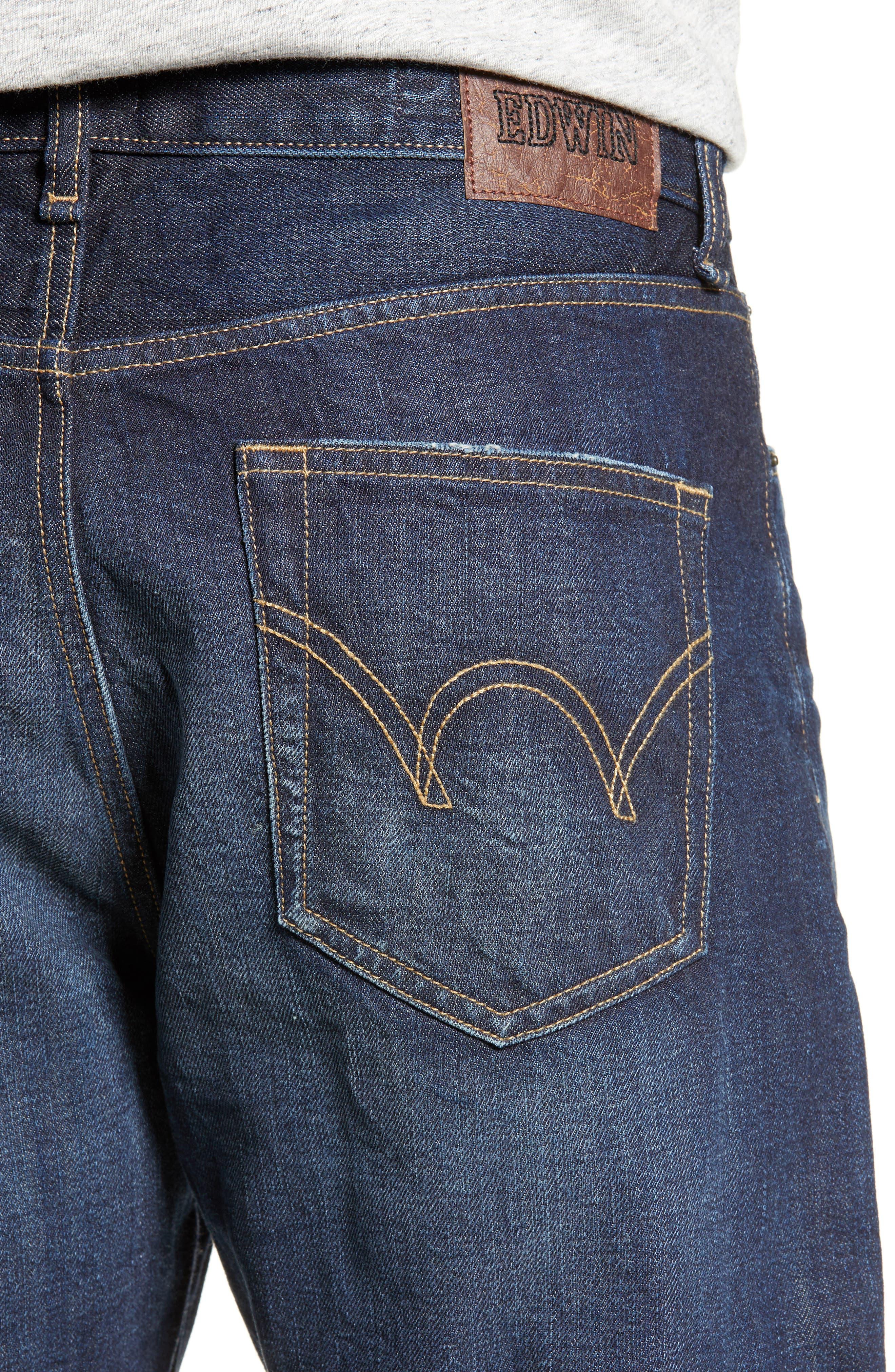 ,                             Taka Straight Leg Jeans,                             Alternate thumbnail 5, color,                             GARRISON