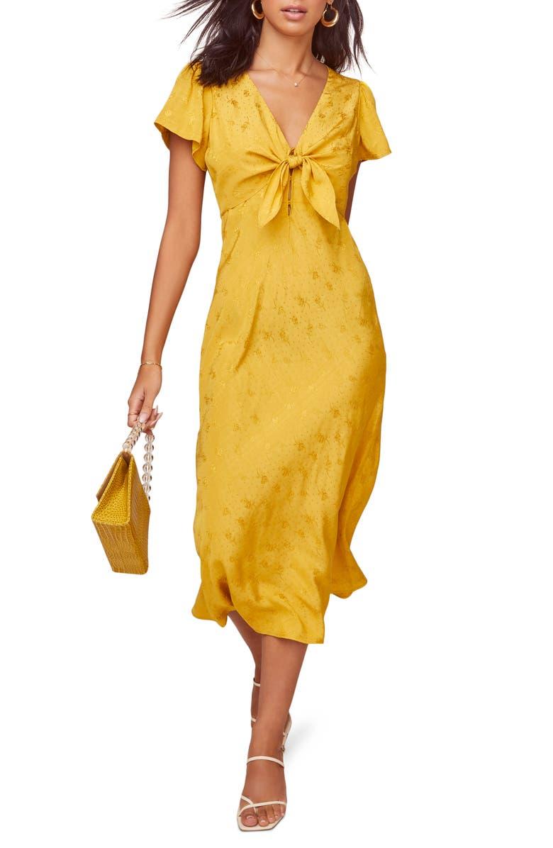 ASTR THE LABEL Serendipity Midi Dress, Main, color, 700