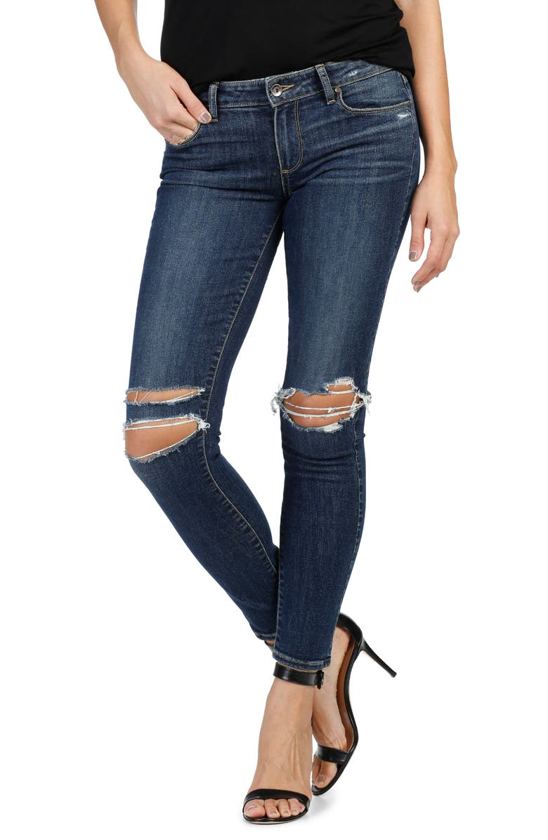 PAIGE Verdugo Ultra Skinny Jeans, Main, color, 400