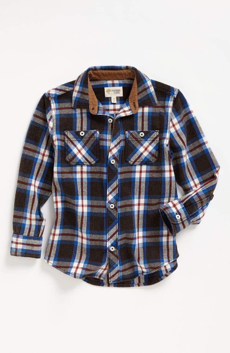 TUCKER + TATE 'Lawson' Long Sleeve Flannel Shirt, Main, color, 420