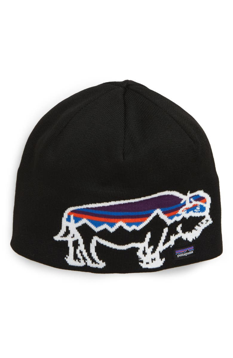 PATAGONIA Knit Cap, Main, color, BLACK/ BLACK