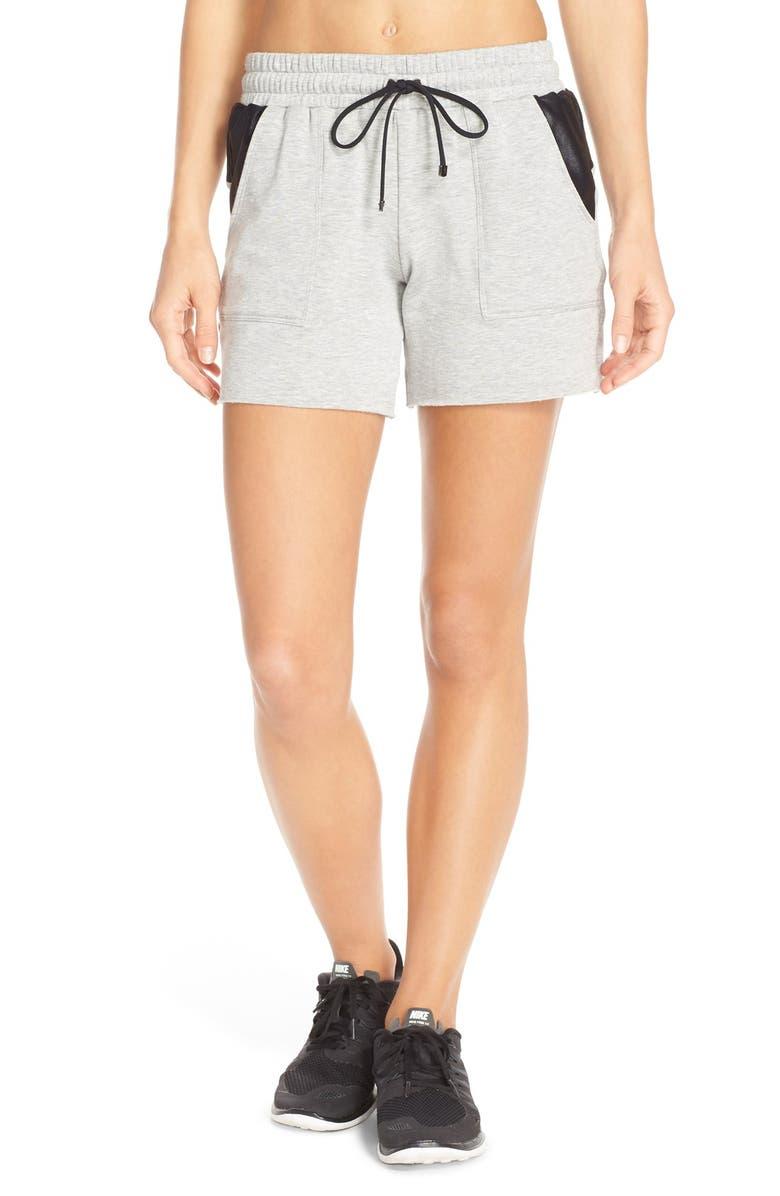KORAL 'Boyfriend' Shorts, Main, color, 020
