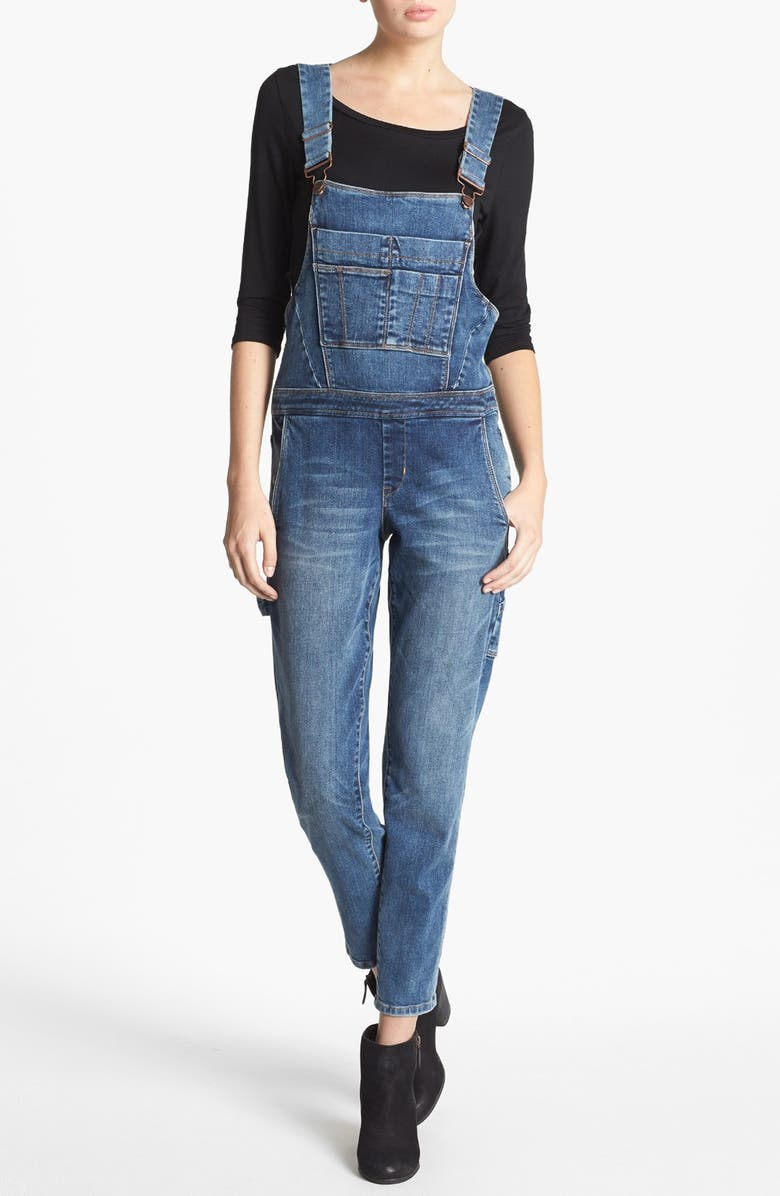 BLANKNYC Denim Overalls, Main, color, 400