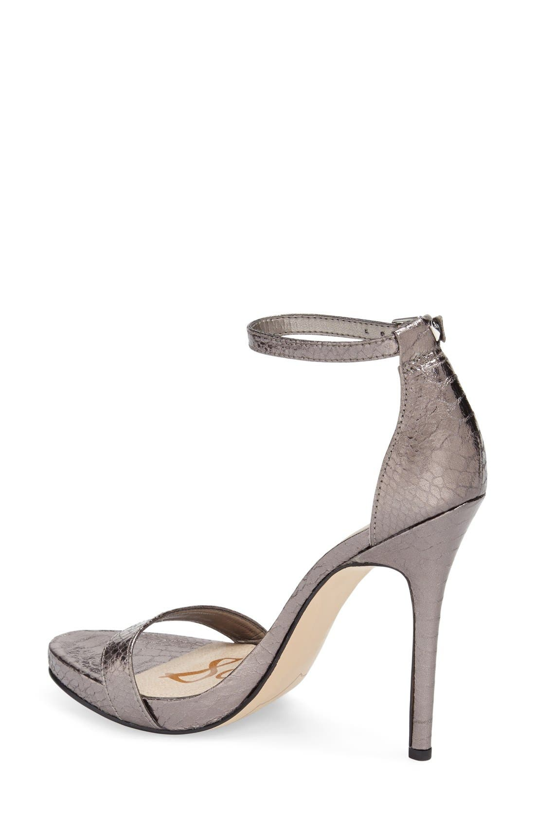 ,                             'Eleanor' Ankle Strap Sandal,                             Alternate thumbnail 51, color,                             020