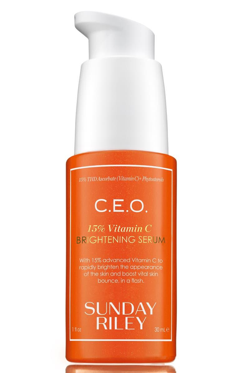 SUNDAY RILEY C.E.O 15% Vitamin C Brightening Serum, Main, color, NO COLOR