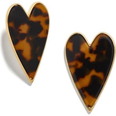Baublebar Valentina Heart Stud Earrings